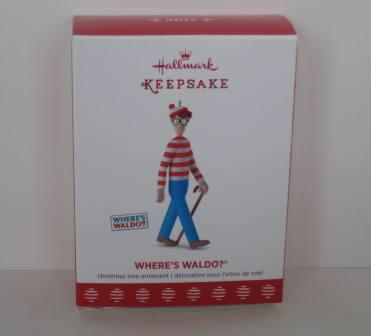 Where's Waldo Keepsake Ornament by Hallmark (NEW)